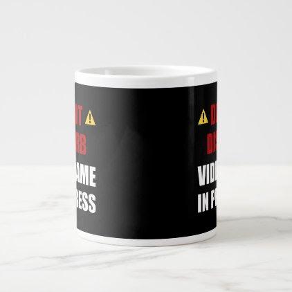 Do Not Disturb Video Game Large Coffee Mug