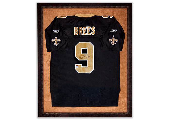 Frameco Framed Sports Jersey Custom Picture Framing San Diego