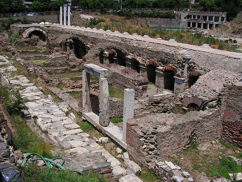 Αρχείο:Thessaloniki-Ancient Agora.jpg