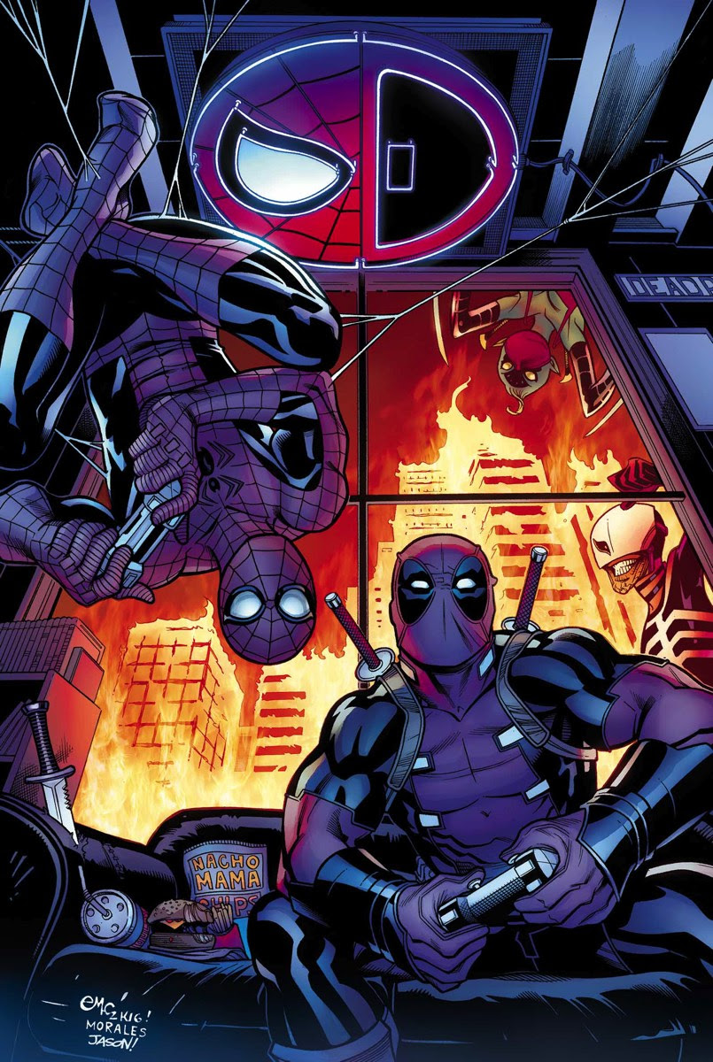 Image result for spider-man deadpool 10 cover