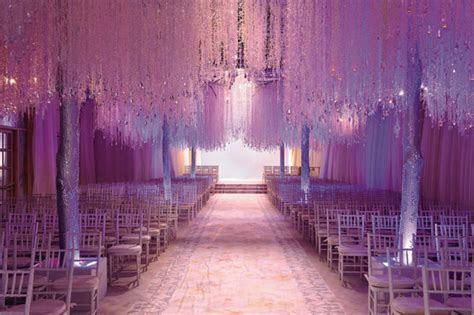 Best Wedding Decorations: Exotic Crystal Wedding Ceremony
