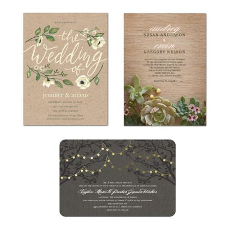 Wedding Paper Divas: Invitations That Are True to the Two