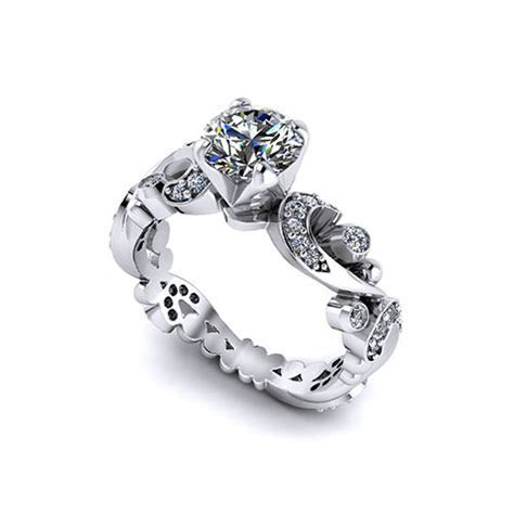 Paisley Engagement Ring   Jewelry Designs