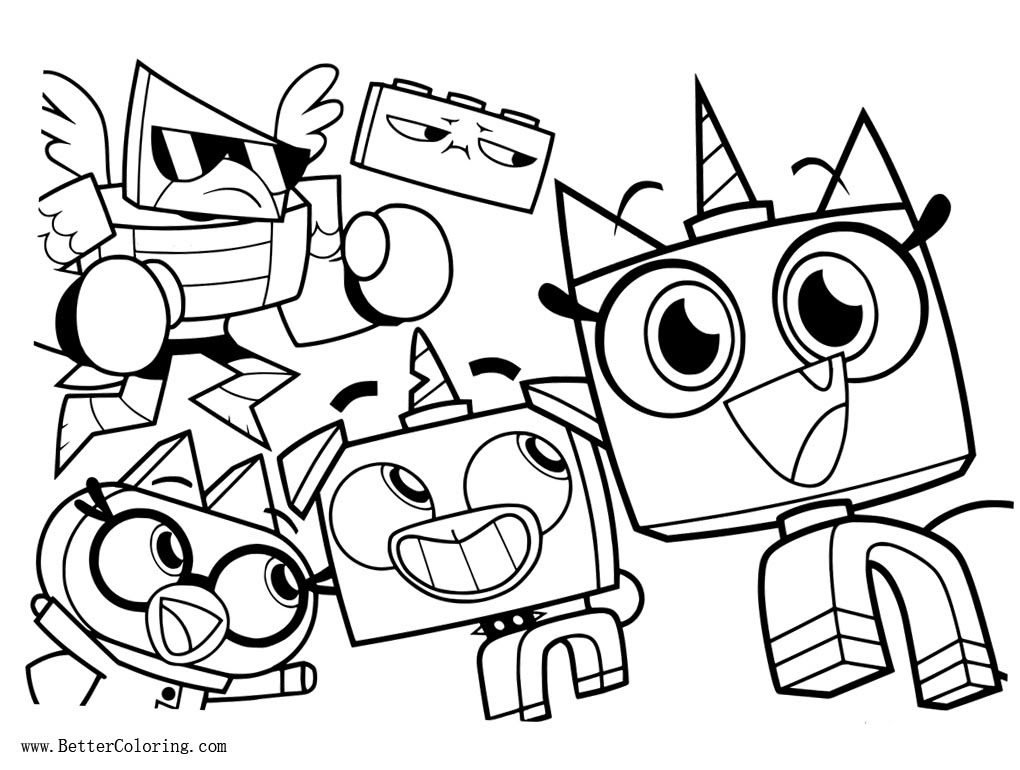 Lego Movie Coloring Pages Lego Movie Unikitty Coloring Pages ...   770x1020