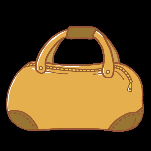 キャメルの旅行鞄のイラスト かわいいフリー素材が無料のイラストレイン