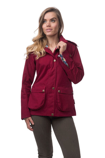 Kendal Womens Waterproof Cotton Jacket