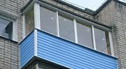 Г - образный балкон