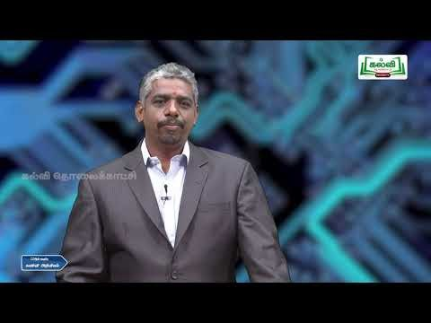 12th Computer Science பாடம் 8 சரங்கள் Kalvi TV