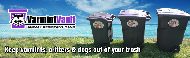 Raccoon And Squirrel Proof Garbage Can The Varmint Vault