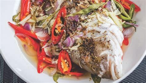 ikan kukus ala thai myresipicom