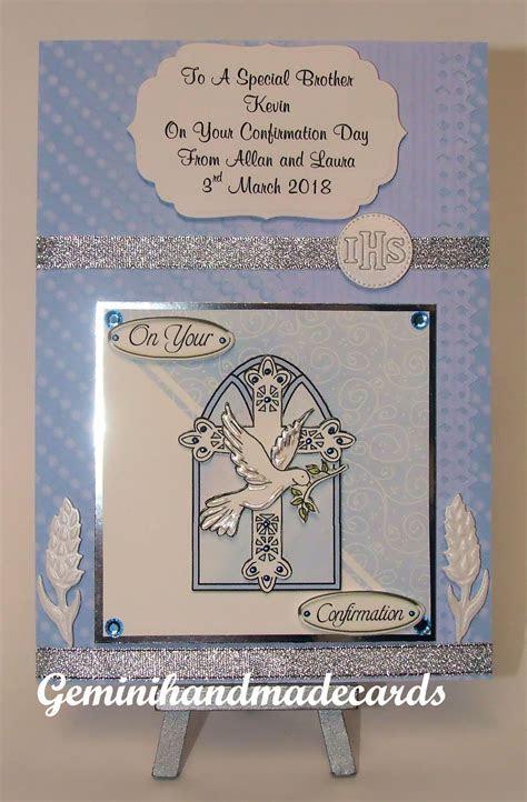 Confirmation Cards Boys   geminihandmadecards.com