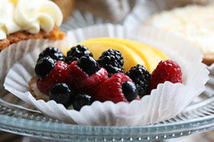Fruit tart with Mango from La Farine (Oakland, CA)