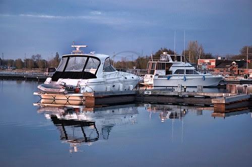 Orillia - Harbour at Dawn
