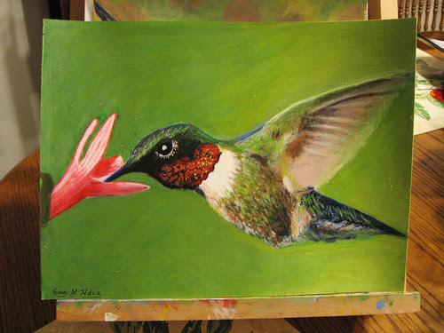 my mom's hummingbird