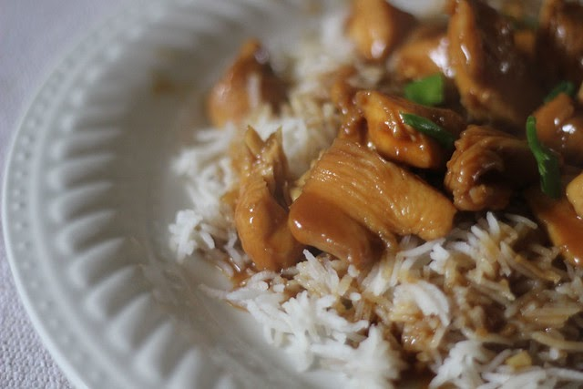 Chinese Food Bourbon Chicken Nutrition