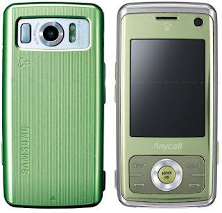 Samsung Eco Phone SCH-W510: Bio Cover Mobile Phone