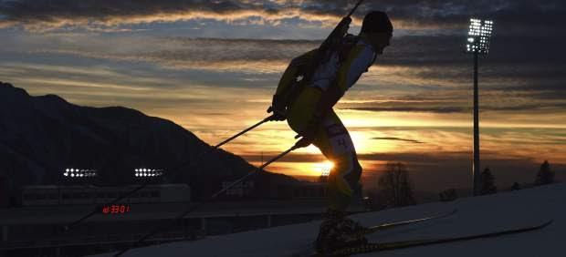 Biatlón en Sochi 2014