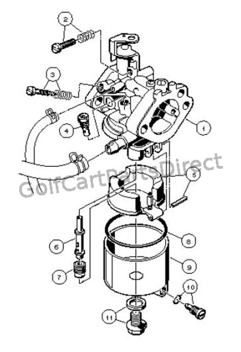 Carburetor Assembly, FE290 - Club Car parts & accessories