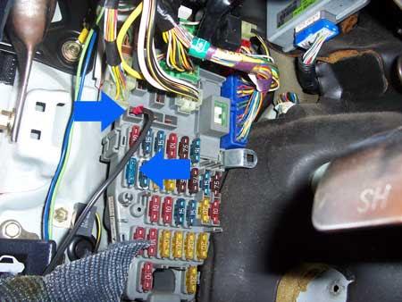 93 civic under dash fuse box diagram image 8