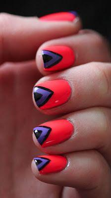 My Extreme Nails Guide: Fundamentally Flawless: Neon Nail Art