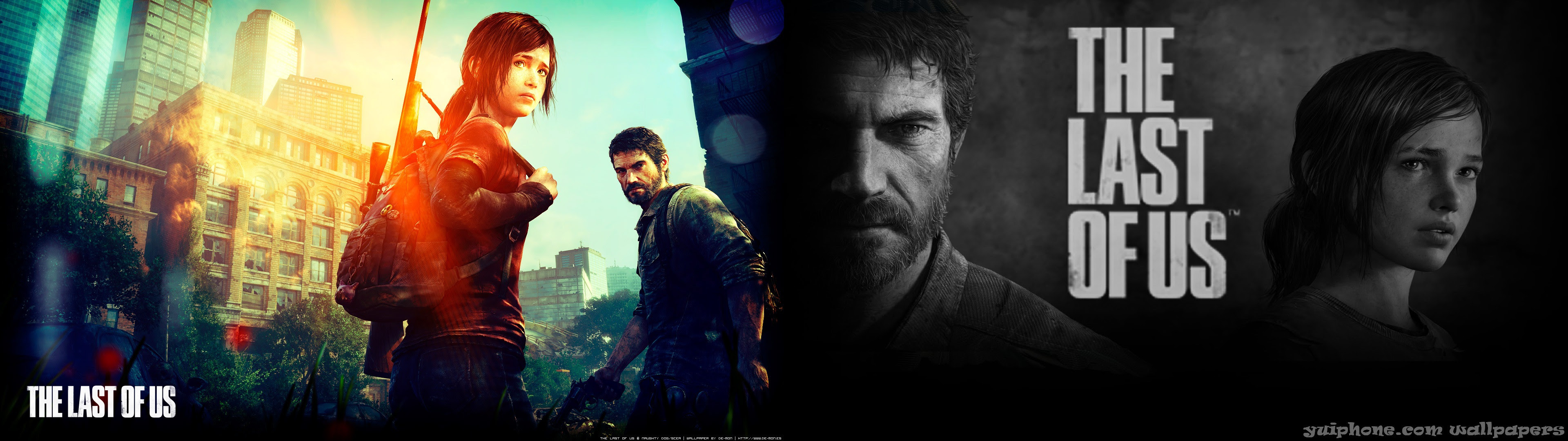 The Last Of Us Dual Screen Wallpaper Thelastofus