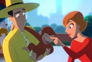 Hombre del Sombrero amarillo y Jorge el Curioso