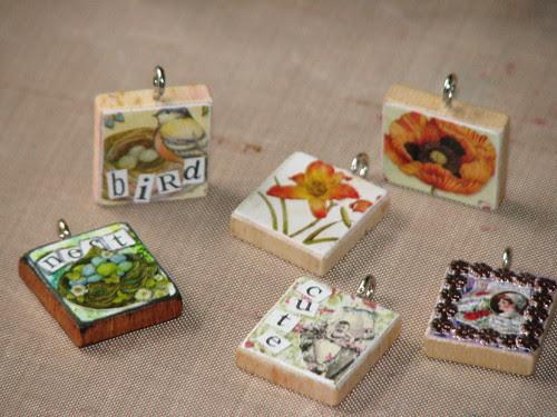 Spring Scrabble Tiles 008