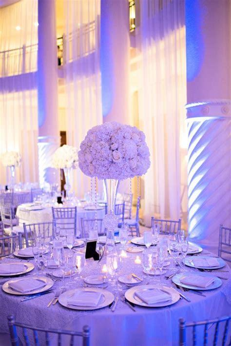 Chic Classic Silver and White Wedding   Wedding   Wedding
