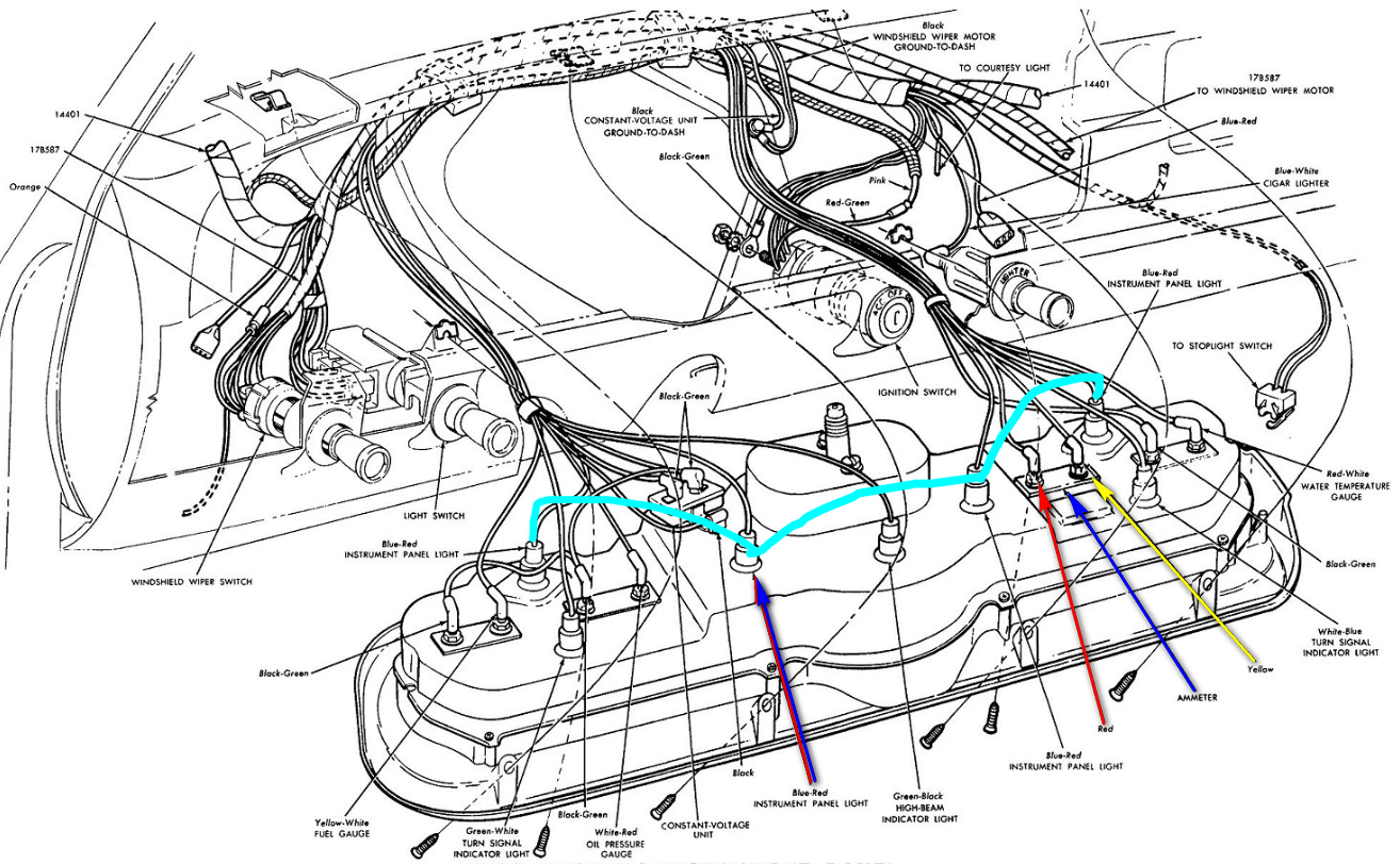 66 Chevy Truck Wiring Diagram - Wiring Diagram Networks
