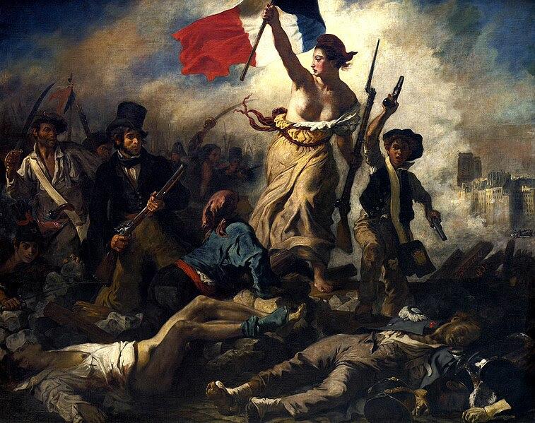 Ficheiro:Eugène Delacroix - La liberté guidant le peuple.jpg