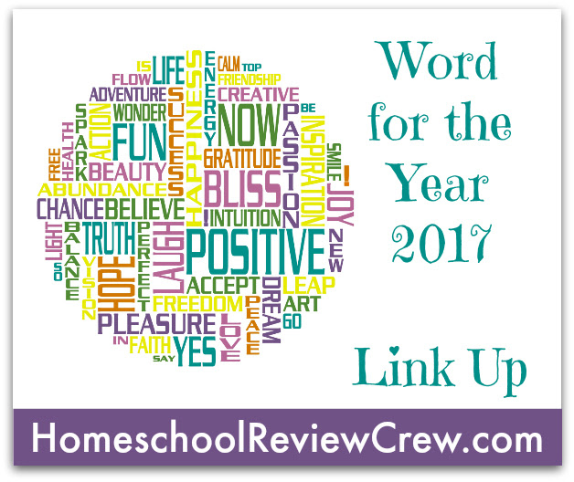 Homeschool Review Crew Word for 2017