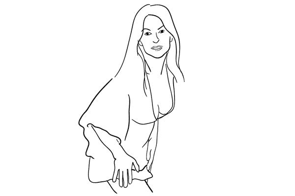 Позирование: позы для женского портрета 1-15