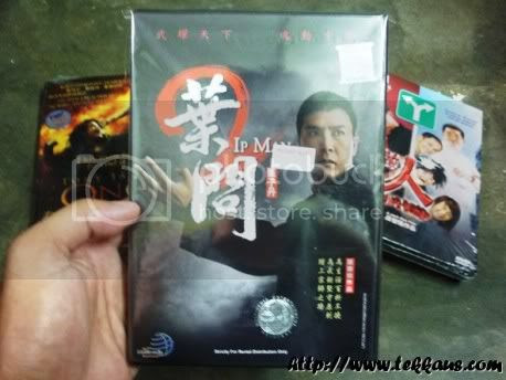5 Original DVDs,Ip Man