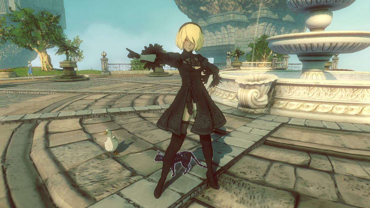 NieR: Automata's 2B outfit comes to Gravity Rush 2 next month screenshot