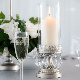 Vintage Hurricane Candle Holder Home Wedding Decor Pillar