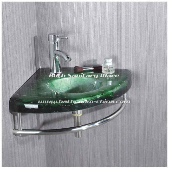 Glass Basin Cabinet   China bathroom vanities , bathroom vanity ...