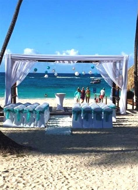 Royalton Punta Cana Wedding Gazebo on the Beach #PuntaCana