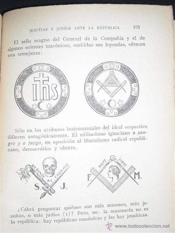 Resultado de imagen para judios y jesuitas