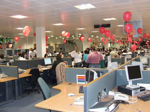 Flickr: charmingman - Comic Relief Call Centre