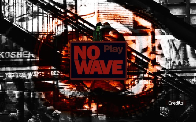 Play the No Wave Point-and-Click Video Game