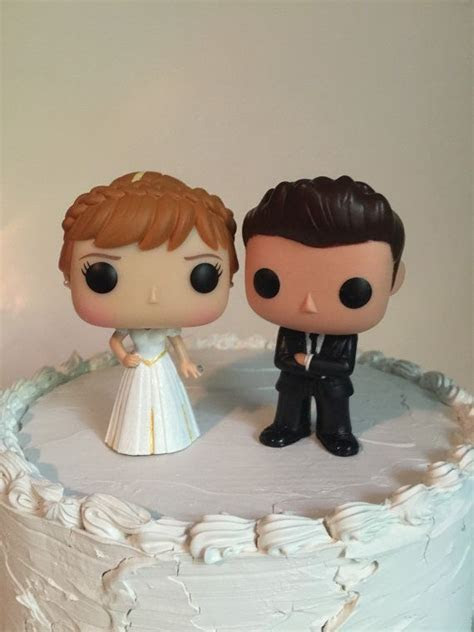 EverAfterProducts on Etsy Anna and Groom Funko Pop Wedding