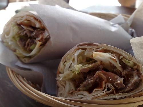 Lamb Kebab Roll