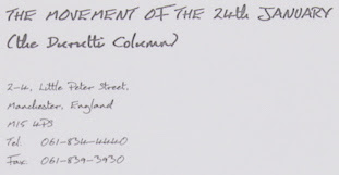 Movement of the 24th January stationery