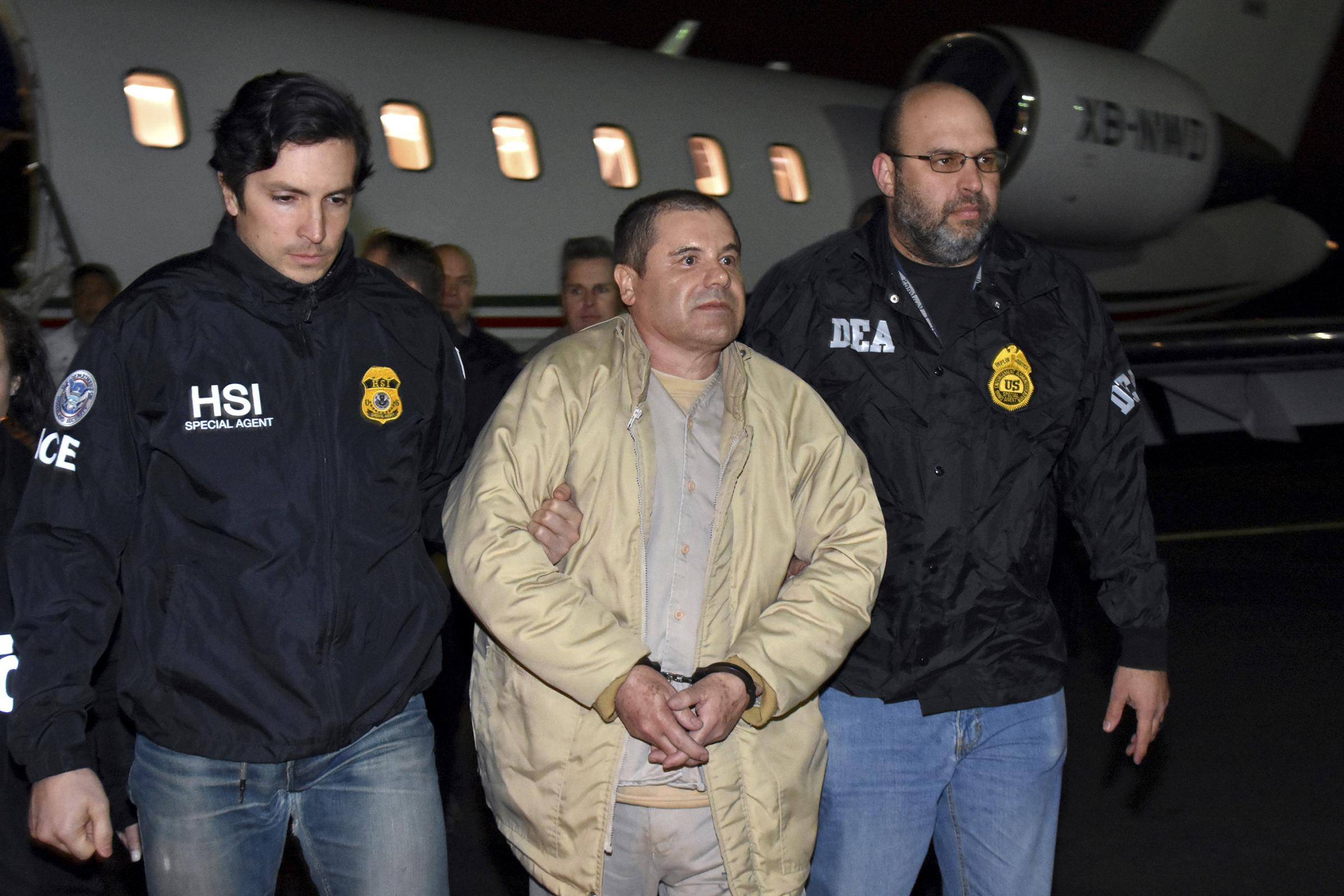 Image result for Mexican cartel kingpin El Chapo is found GUILTY on all charges in New York