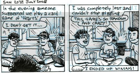 a game of hearts comic