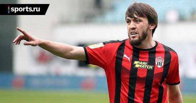 «Спартак» объявил о переходе Мирзова в «Химки» на правах аренды до конца сезона