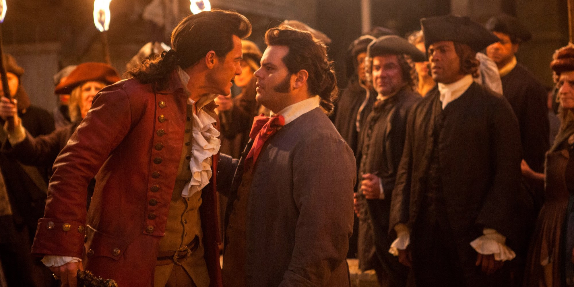 Image result for beauty and the beast 2017 gaston