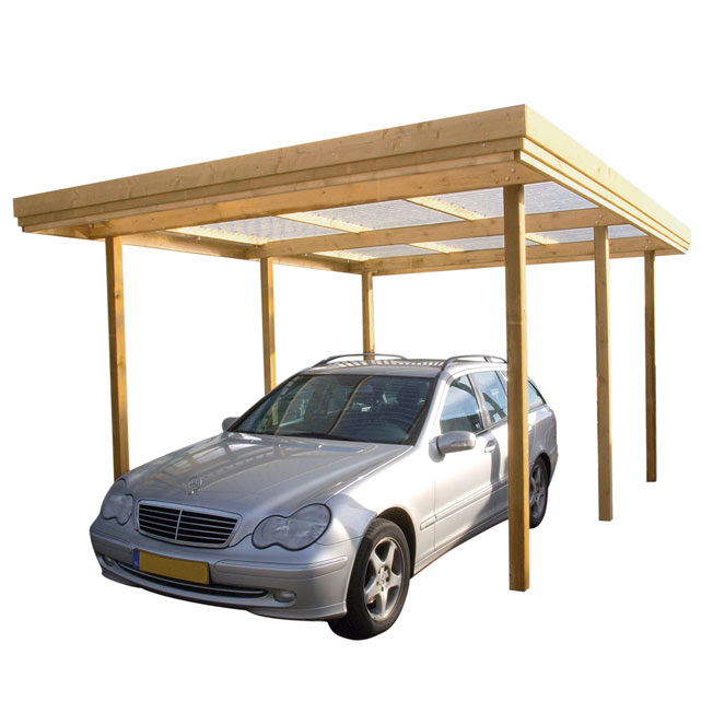Kie guide: Build shed attached to garage