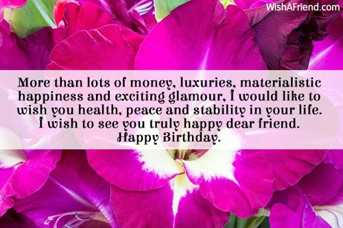 I Wish Your Family Health And Happiness