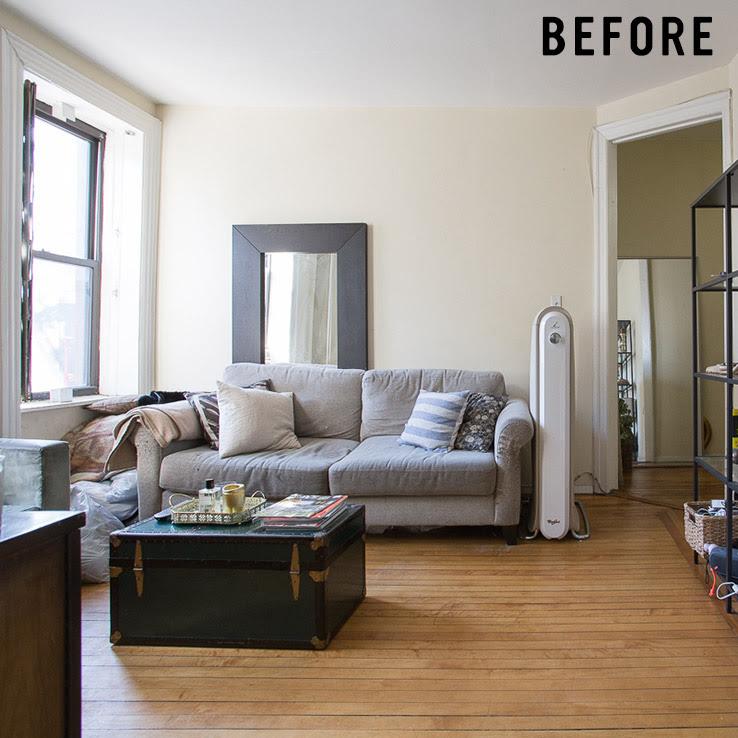 Small Mid-Century Living Room